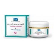 Crema hidratanta Q4U cu vitamine, musetel si acid hialuronic 50ml Tis Farmaceutic