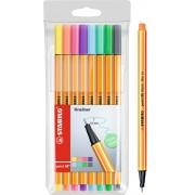 Stabilo Point 88 Fineliner Colores Pastel 8 Unidades