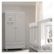Двукрилен гардероб Baby Italia