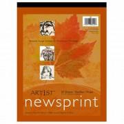 ART1ST NEWSPRINT PAD 12X18 50 SHT