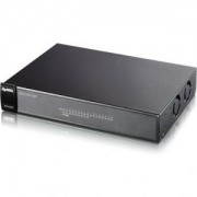 суич ZyXEL ES1100-16P 16-port 10/100Mbps Ethernet switch, 8x PoE (802.3af), Green (802.3az), 19' rackmount - ES1100-16P-EU0102F