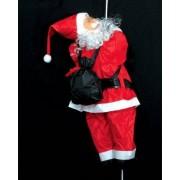 Eminza Babbo Natale sulla corda