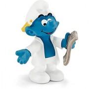 Schleich North America Researcher Smurf Toy Figure