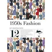 PEPIN PRESS 1950s fashion, Volume 26. Grandes feuilles de papier cadeau de haute qualité.