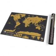 Putnička Greb Karta sveta Deluxe mala 0638