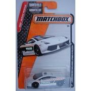 MATCHBOX WHITE LAMBORGHINI GALLARDO LP560-4 POLIZIA 61/120