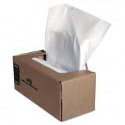 Shredder Waste Bags, 25 Gal Capacity, 50/ct