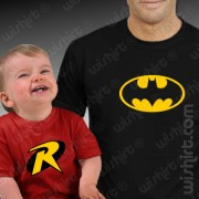 T-shirts Batman Robin Bebé