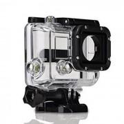 Carcasa rezistenta la apa, compatibila GoPro Hero 3 & 3+ (Alb)