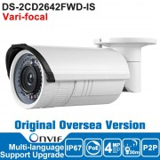 DS-2CD2642FWD-IS ONVIF HIK IP Camera 4MP Outdoor POE P2P Security Camera CCTV Camera SD Card H.264/MJPEG/H.264+ Vari Focal