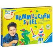 Ravensburger 21422 - Gioco educativo con martello e blocchetti in legno colorati [importato dalla Germania]