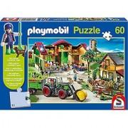 On The Farm Playmobil Jigsaw Puzzle 60-Piece