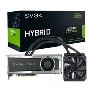 EVGA 08 G-P4 - 6178-kr NVIDIA GeForce GTX 1070 ibrida 8 GB scheda grafica Gaming, colore: nero