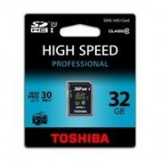 Toshiba 32GB SDHC/UHS-1, 32 MB, Secure Digital High-Capacity (SDHC), 30 MB/s