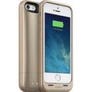 Baterie Externa tip Husa cu Incarcare si Memorie 32GB Mophie Space Pack iPhone 5/5S 1700 mAh Auriu