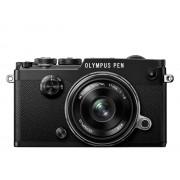 Aparat foto digital Olympus PEN-F 1718 Kit blk/blk / PEN-F black + EW-M1718 black