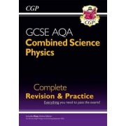 New Grade 9-1 GCSE Combined Science: Physics AQA Complete Revision & Practice with Online Edition by CGP Books