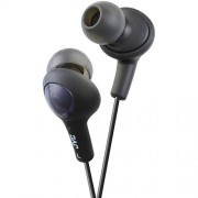 JVC HAFX5B Gumy Plus Inner Ear Headphones -Black