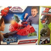 Marvel Spider-man Spider Wars Arachtagon Arena Spider-man Vs Doc Ock A5442 Playset