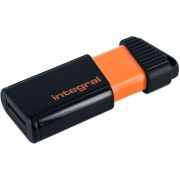 Stick USB 32GB Pulse Portocaliu Integral