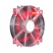MegaFlow 200 Red LED 200mm ventilator (R4-LUS-07AR-GP)