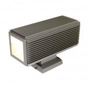 energie A++, Buitenlamp Squared - aluminium zilverkleurig 2 lichtbronnen, Näve