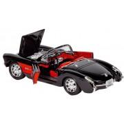 Fx Metalen chevrolet corvette (1957): 17,5 cm zwart