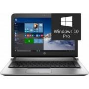 Laptop HP ProBook 430 G3 Intel Core Skylake i5-6200U 500GB-7200rpm 4GB Win10 Pro HD Fingerprint Bonus Rucsac Laptop Targus Prospect