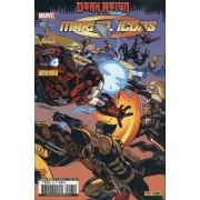 """ Panne Sèche ( Dark Reign ) "" ( The New Avengers / Fantastic Four / Iron Man / Captain America ) : Marvel Icons N° 62 ( Juin 2010 )"