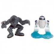 Star Wars Galactic Heroes Figures Super Battle Droid and R2-D2 2-Pack
