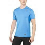 Nike Pro Hypercool Fitted Crew hardloopshirt blauw S 2016 Hardloopshirts