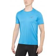 asics Stride hardloopshirt blauw L 2016 Hardloopshirts