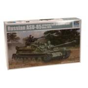 Trumpeter 1/35 Russian Asu85 Airborne Self-Propelled Gun Mod 1970 Tank [Toy] (Japan Import)