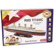 Build-Your-Own Giant 3D Kit - Maqueta del Titanic