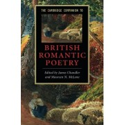 Chandler The Cambridge Companion to British Romantic Poetry Paperback (Cambridge Companions to Literature)