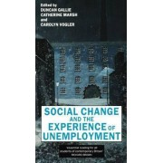 Social Change and the Experience of Unemployment by Duncan Gallie