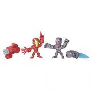 Marvel Super Hero Mashers Micro Iron Man vs. Ultron 2-Pack