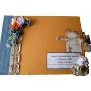 Jurnal handmade amintiri de nunta