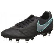 Nike Tiempo Legacy II FG, Botas de Fútbol para Hombre, Negro (Black / Black)