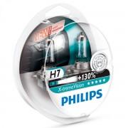 2 ampoules H7 Philips X-treme Vision +130%