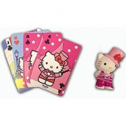 Hello Kitty Magic Incredible Mind Reading Card Trick Play Set with Super Cute Collectible Figurine