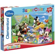 Clementoni - 27795.7 - Puzzle Classique - Mickey Mouse Club House - Camping Buddies