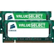 Memorie Laptop Corsair 2x2GB DDR2 800MHz