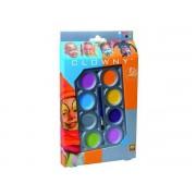 Palette De Maquillage Aqua 8 Couleurs - Clowny : Tendance