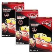 Fuji Fujifilm Instax Mini Disney Cars 3 30 Film 7s 8 9 25 50s 70 90 SP-1 SP-2 Caméra