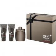 Mont Blanc Legend Intense Комплект (EDT 100ml + AS Balm 100ml + SG 100ml) за Мъже