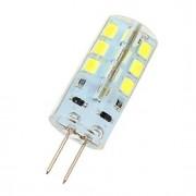 3W G4 Luminárias de LED Duplo-Pin 24 SMD 2835 180 lm Branco Frio DC 12 V
