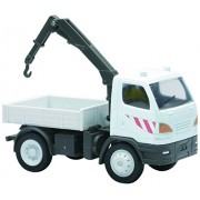 NEWRAY 33005 - Construction Machine Truck With Mounted Crane, Scala 1:43