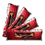 Ripjaws 4 Series - 16 Go (4 x 4 Go) DDR4-2666 - PC4-21300 - CL15 - Mémoire PC (F4-2666C15Q-16GRR)