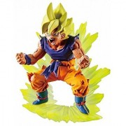 Dragonball Z Capsule Returns - Legendary Warriors Super Saiyan Edition ~ Powering Up Goku 4 Inch PVC Figure (Opened to Identify)
